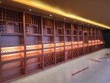 Kelder van de Wijn van het Hout van het Meubilair van de luxe de Stevige Houten met het Rek van de Wijn