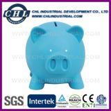 Banco Piggy colorido de baixo preço com bloqueio inferior