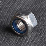 Tuerca de fijación de nylon DIN985 (CZ439) del final llano
