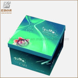 Kundenspezifische Großhandelsfarbe gedruckter gewölbtes Papier-Pappverpackenkasten-Hersteller Querstreifen-Oberseite-e-Flöte