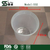 contenitore di alimento di plastica a gettare della tazza della minestra 32oz con i coperchi