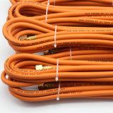 """3/16 """"Inch NBR Material Mangueira de gás de borracha flexível de alta pressão"""