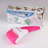 Uso para o rolo do gelo da massagem da pele