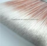 Hochwertige synthetischen Filament Pinsel mit Winkeln Lange Sash Gummi Kunststoff Griff Verjüngte