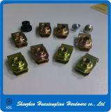 Type en acier noix du ressort galvanisé par jaune U de clip