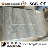 China Silver Wood/Blue Wood Marble Slabs für Tiles