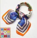 Form-Frauen-kleiner quadratischer Silk Schal