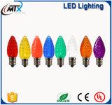 3D星またはカラー妖精LEDエジソン軽いE27 220V LEDの球根ランプストリングフィラメントのレトロのガラスLamparaのアンプルLumiere Lampa Zarovka