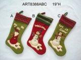 Het Ornament gift-4asst. van de Decoratie van de Sneeuwman van de kerstman