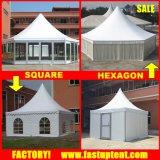 Шатер 3X3m Pagoda шестиугольника Gazebo 3 3 3X3 4X4m 4 4 4X4 5X5m 5 5 5X5 6X6m 6 6 6X6
