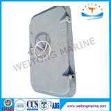 Puerta hermética de acero de la rueda de mano del barco