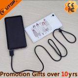 Côté en cuir neuf du pouvoir 10000mAh pour le smartphone (YT-PB38)