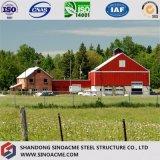 Prefabricated Steel Building/for Warehouse Breeding Stock