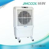 Refroidisseur d'air évaporatif portatif avec le réservoir axial de type et d'eau de ventilateur, état eau-air avec le refroidissement de bonne qualité de garniture (JH168)