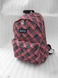 La course rouge d'unité centrale folâtre le sac à dos d'ordinateur de sacs d'école