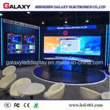 Schermo di visualizzazione fisso dell'interno di alta risoluzione del comitato di P1.5625/P1.667/P1.923 LED per la fase della TV, riflettente centro