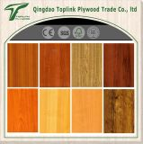 Kirschfarben-Melamin lamelliertes Furnierholz des Pappel-Kern-18mm