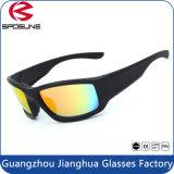 Les lunettes de soleil anti-éblouissantes de haute performance faisant du vélo l'extrémité de recyclage folâtrent la lunetterie