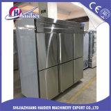 Refrigerador de formação de espuma de alta pressão do Freezer/da padaria das portas do plutônio 4/6 para o armazenamento do alimento
