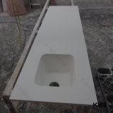 Искусственная каменная мраморный верхняя часть стенда тщеты ванной комнаты
