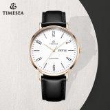 Aço inoxidável impermeável Wristband Fashion Quartz Men Watch 72730