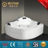 De gekwalificeerde Freestanding Witte AcrylBadkuip van de Massage (BT-A1027)