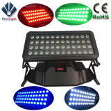 Ciudad 96X10W RGBW4in1 LED color de la pared luz de la arandela