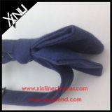 Relation étroite de proue noire en gros tissée par coutume de Mens de coton