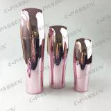 Bouteille crème acrylique rose de lotion de choc pour l'empaquetage de produit de beauté (PPC-NEW-065)