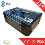 Mini metalóide Jsx-5030 Desktop que cinzela a maquinaria do laser Engraving&Cutting