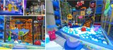 Конструкция спортивной площадки мягкой игры детей Kaiqi крытая для молов и больше - много имеющихся цветов (TQBZ24A)