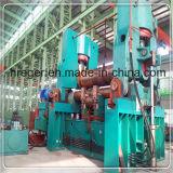 China hizo CNC hidráulico la prensa de batir de la placa de los rodillos del metal W12 del acero inoxidable