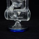 再資源業者のガラスWaterpipeの単一の高品質の小型サイズPokmanガラス煙るWaterpipe