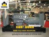 unidades del generador 400kw con el motor del hombre