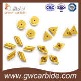 Покрытие Cnmg CVD вставок карбида Indexable поворачивая