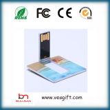 USB 저속한 지팡이 8GB 사업 신용 카드 USB 기억 장치