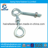 Crochet galvanisé d'oeil de vis de vis de l'oeil Ss316 de l'acier inoxydable solides solubles 304/