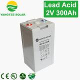 3years batterie 2V 300ah de la garantie VRLA