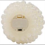 タイマーが付いているホワイトパインの円錐形のFlameless蝋燭電池式LEDの蝋燭