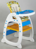 Europäischer Standard-bester personifizierter Plastikbaby-hoher Stuhl (CA-HC550)