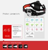 LED Lenser Seo7.2のスポーツのヘッドライトをハイキングする話す懐中電燈