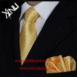 Insieme su ordinazione tessuto di seta del fazzoletto del legame del Mens