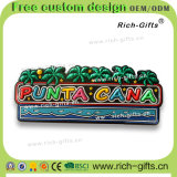 Dekoration-Geschenke passten umweltfreundliche Kühlraum-Magnet-Andenken Punta Cana an (RC- TUN)
