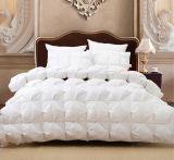Do ganso Comforter branco encantador para baixo para a família