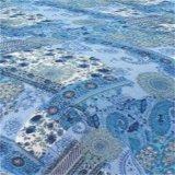 مريحة زرقاء أسلوب طباعة قطر ترقيع [بدّينغ] لحاف ([وسبق-2016012])