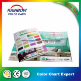 Brochure de peinture glacée pliable personnalisée Cmyk Full Color