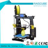 Rise 210 * 210 * 225mm Reprap Prusa I3 Rapid Prototype Máquina de impressão 3D