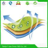 Película respirable impresa indicador mojado del PE para el pañal Backsheet del bebé