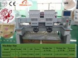 Máquina industrial do bordado de 2 cabeças, máquina do bordado do tampão, t-shirt e preço liso de China dos projetos de Tajima da máquina do bordado