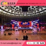 Afficheur LED de location d'intérieur P2.5/P3/P3.91/P4/P4.81/P5/P6/P6.25 de prix de gros ; USD480
